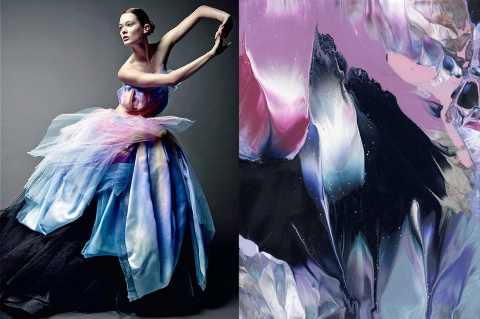Fashion inspired by art: sandro