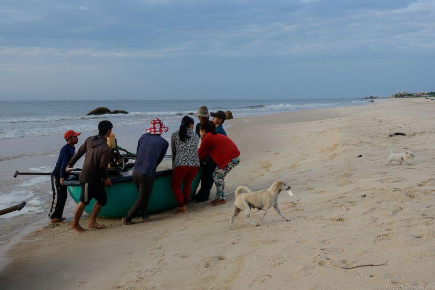 рыбаки вьетнама